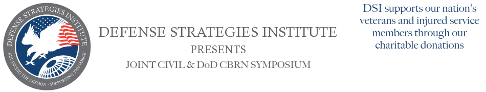 Joint Civil & DoD CBRN Symposium | DEFENSE STRATEGIES INSTITUTE